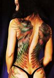Female Nude TattooFullBackWing Tattoos | Funny Tattoos on Wanelo