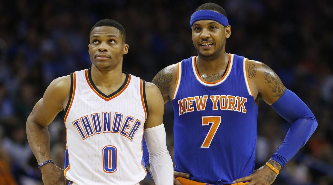 Carmelo Anthony's Arrival Further Bolsters a Dangerous Thunder Lineup - Sports Illustrated