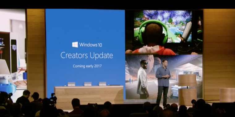 10% of Windows 10 machines upgraded to Creators Update; 60% of phones eligible