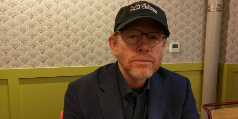 A chat with Ron Howard after watching his Einstein series premiere