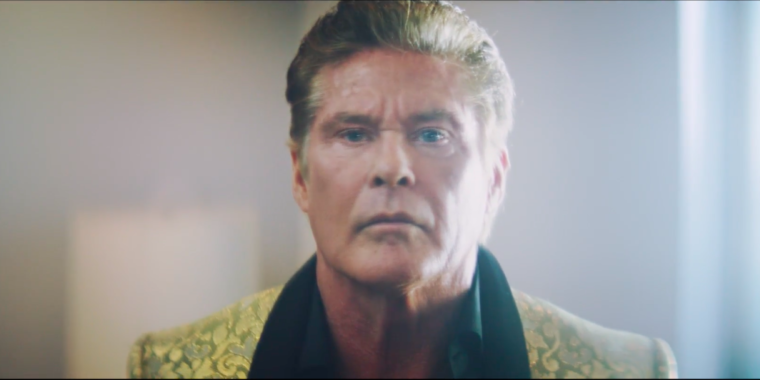 An AI wrote all of David Hasselhoff's lines in this bizarre short film