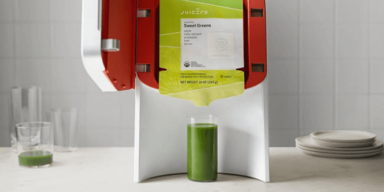 Juicero teardown hints at a very expensively built product