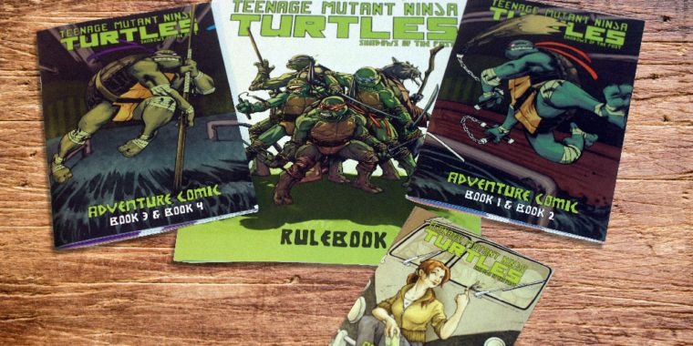 Cowabunga! Playing the Teenage Mutant Ninja Turtles' new sewer-crawl board game