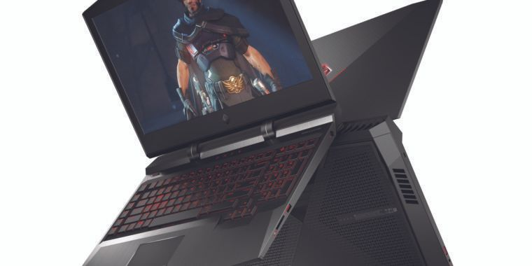 HP stuffed the best gaming desktop perks into the 10-pound Omen X laptop