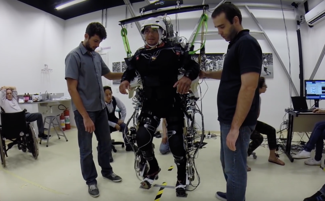 Brain training with exoskeleton and VR spurs recovery for paraplegics