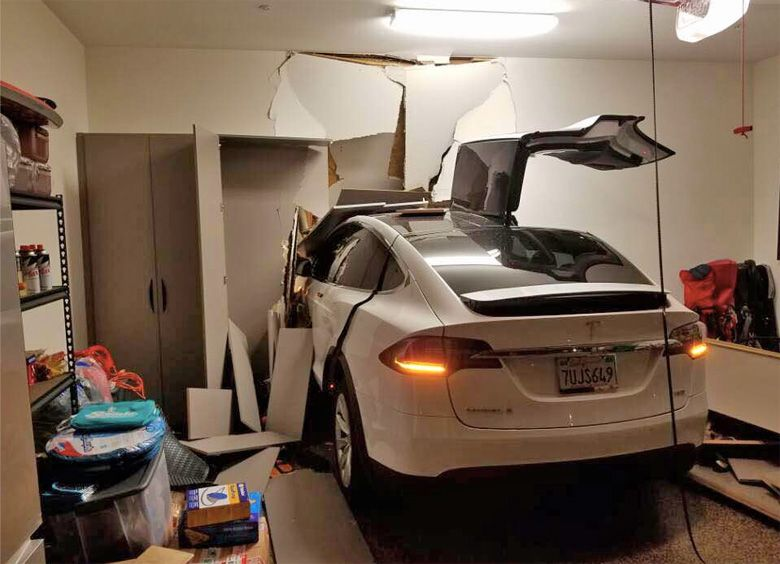 Celebrity sues Tesla, claims Model X drove itself through a wall and into his house - BGR