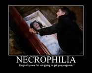 necrophilia demotivational poster