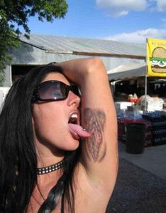 Clitoris Tattoo - Picture