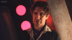 Paul McGann as the Eighth Doctor in 'The Night of the Doctor'. Photo