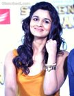 Alia Bhatt looked sizzling in a yellow top matched with a blue wide
