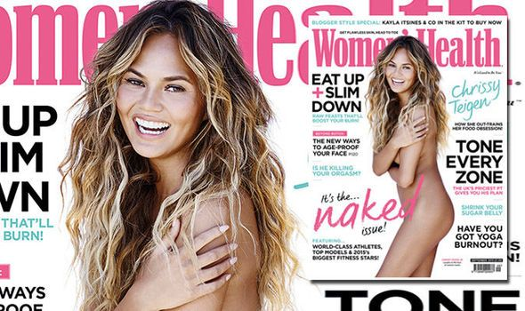 Chrissy Teigen Poses Naked Admits She Has