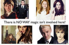 isn't involved here. Harry potter characters before and after puberty