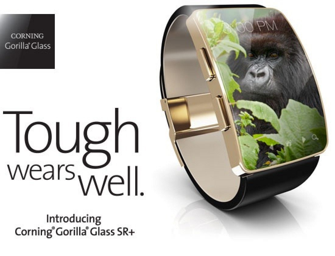 Corning Announces Super Scratch Resistant 'Gorilla Glass SR+' for Wearable Devices