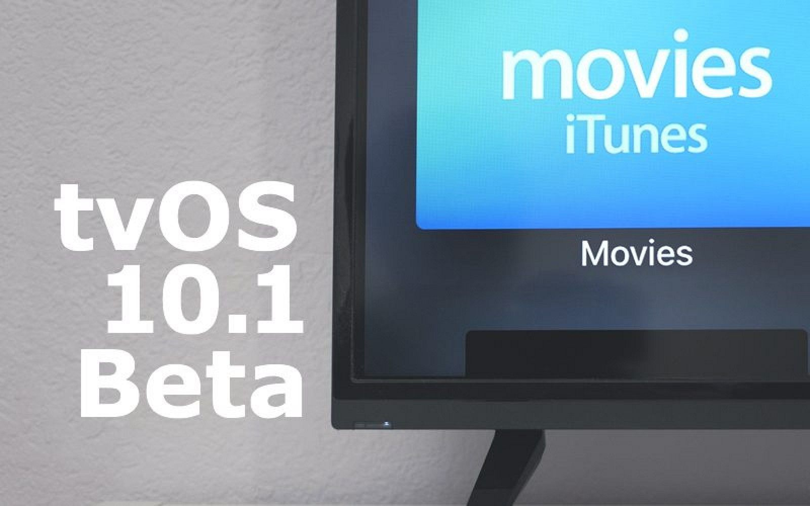 Apple Seeds First Beta of tvOS 10.1 to Developers