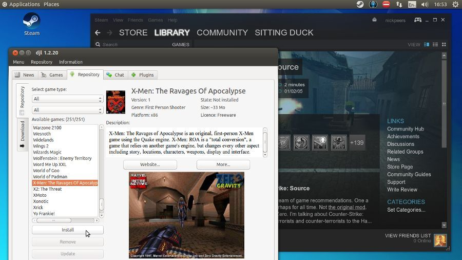 5 of the most popular Linux gaming distros