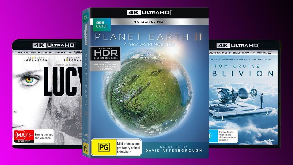 The best 4K Ultra HD Blu-ray movies