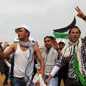 Palestinians Mark Land Day Near Border With Israel