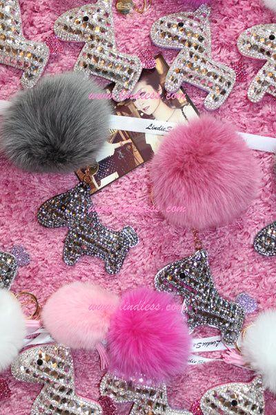 White Fur Amp Pink Fishnets