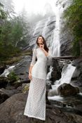 Flowing Waterfall Fashion Editorials  Alex Lim Takes Us Exploring