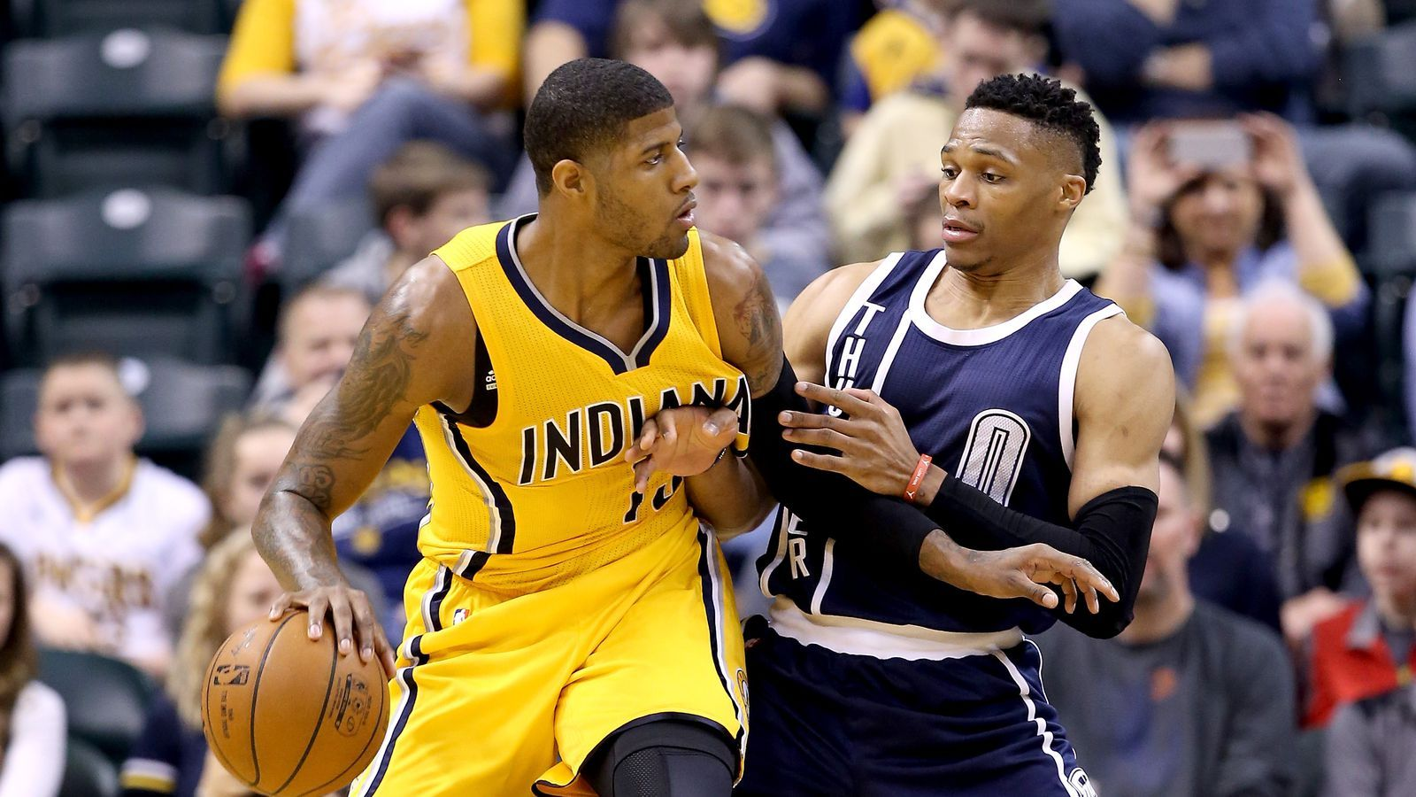 Paul George traded to Thunder in stunning deal, according to report - SB Nation