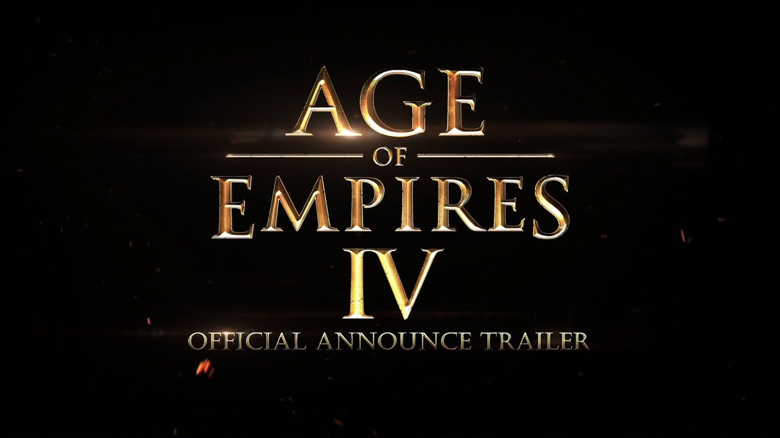 Microsoft announces Age of Empires IV - The Verge
