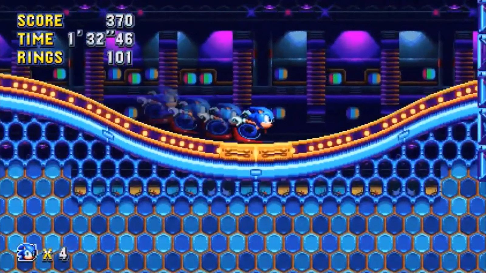 Sonic Mania is good because it's simple