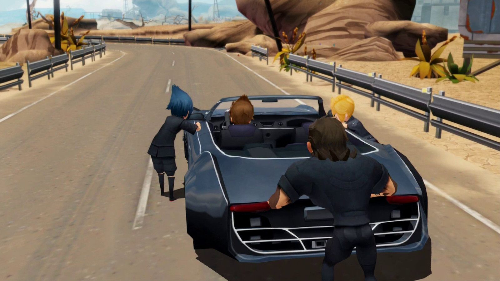 Final Fantasy XV is being remade as an adorable mobile game