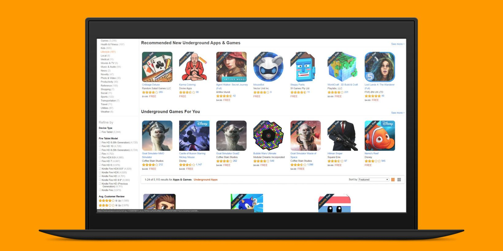 Amazon is ending its program that offered paid Android apps for free