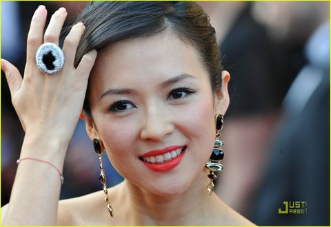 Ziyi Zhang's Inglourious Earrings | Cannes Film Festival 2009, Zhang