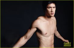 Harry Shum, Jr: Shirtless for 'Da Man' Magazine | Harry Shum Jr