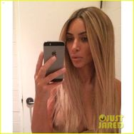 Kim Kardashian Reveals Her New Blonde Hair is Really a Wig