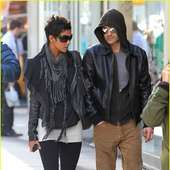 Halle Berry & Olivier Martinez: Leather Lovers
