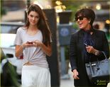 About This Photo Set: Kendall Jenner looks up from her cell phone