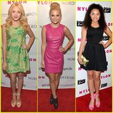 Peyton List & Olivia Holt: Nylon Young Hollywood Party 2013 | Jaylen