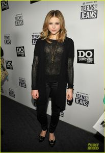 Chloe Moretz: Teens For Jeans Host! | Chloe Moretz Photos | Just Jared