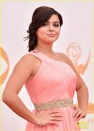 Sarah Hyland & Ariel Winter  Emmys 2013 Red Carpet | 2013 Emmy Awards