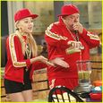 Peyton List raps it up with Kevin Chamberlin in this new still from