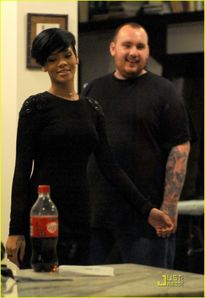 Rihanna Takes To Tattoos | Rihanna Photos | Just Jared