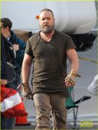 Emma Watson: 'Noah' Set with Russell Crowe! | Douglas Booth, Emma