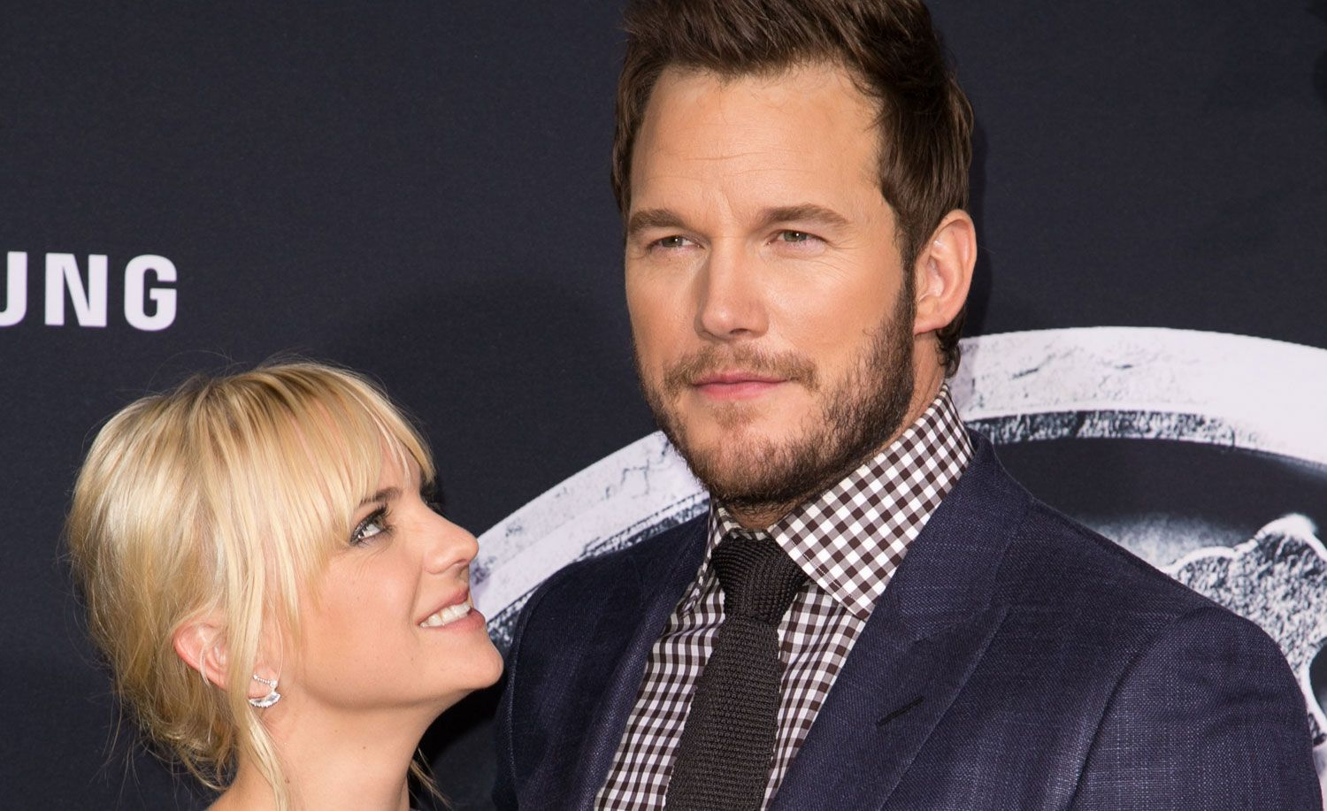 Anna Faris Says Rumors of Chris Pratt Cheating Made Her Feel 'Insecure' - Just Jared