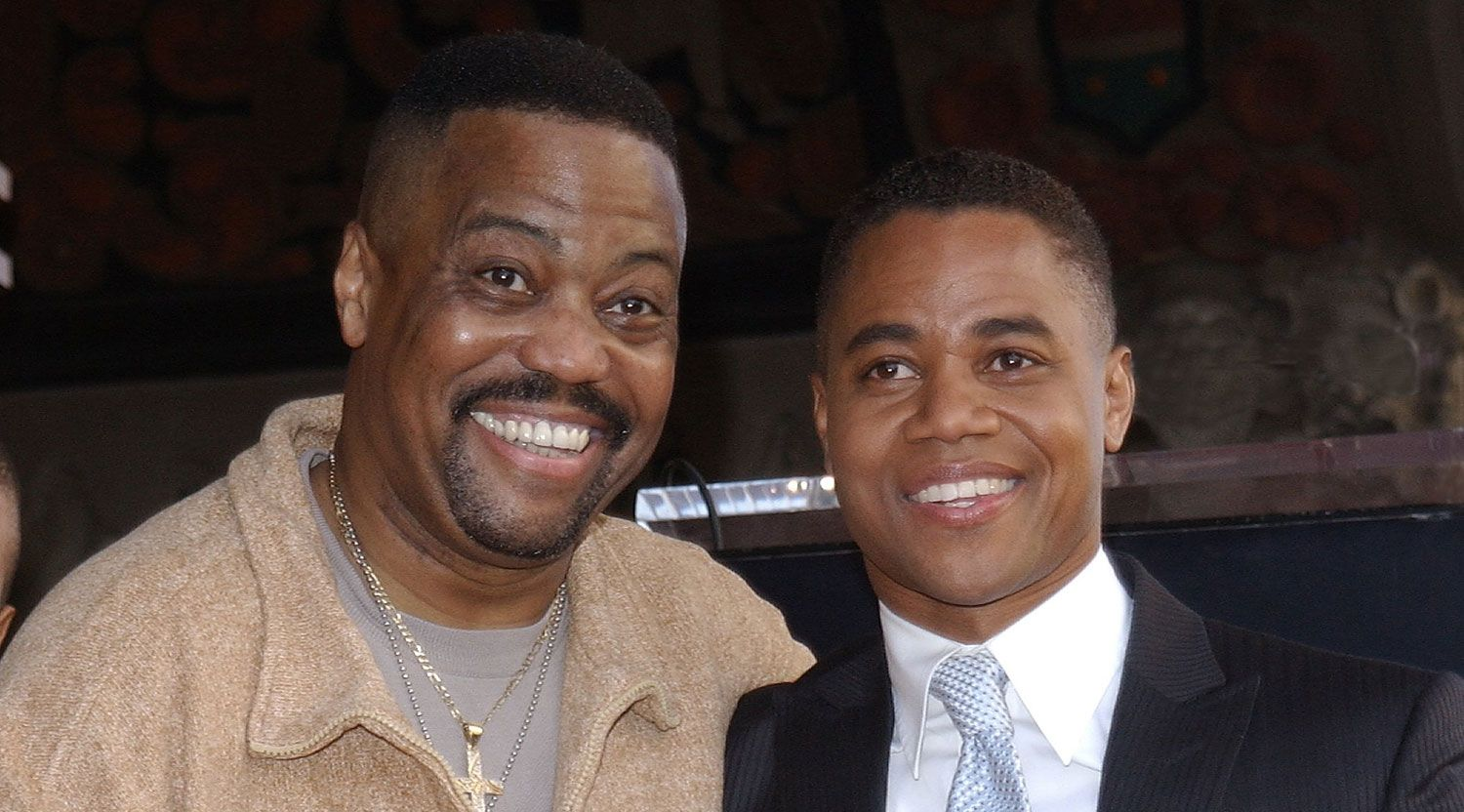 Cuba Gooding Jr. Pays Tribute to His Late Father - Just Jared