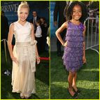 with Skai Jackson | Peyton List, Skai Jackson | Just Jared Jr