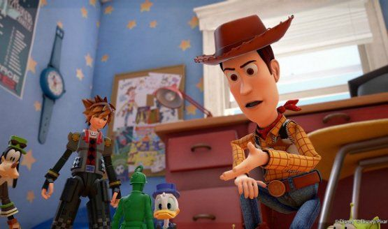 The Kingdom Hearts 3 Toy Story World Is Original