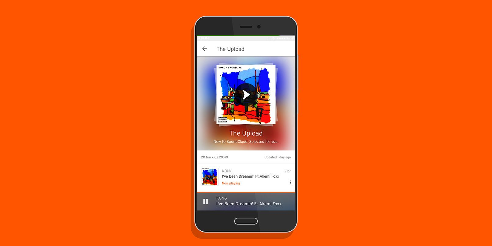 SoundCloud's new feature curates fire playlists with freshly uploaded tracks