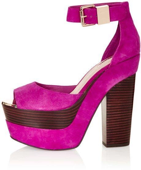 Leila Purple Heels