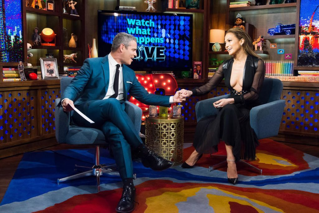 Jennifer Lopez Appeared On Watch What Happens Live In New York City