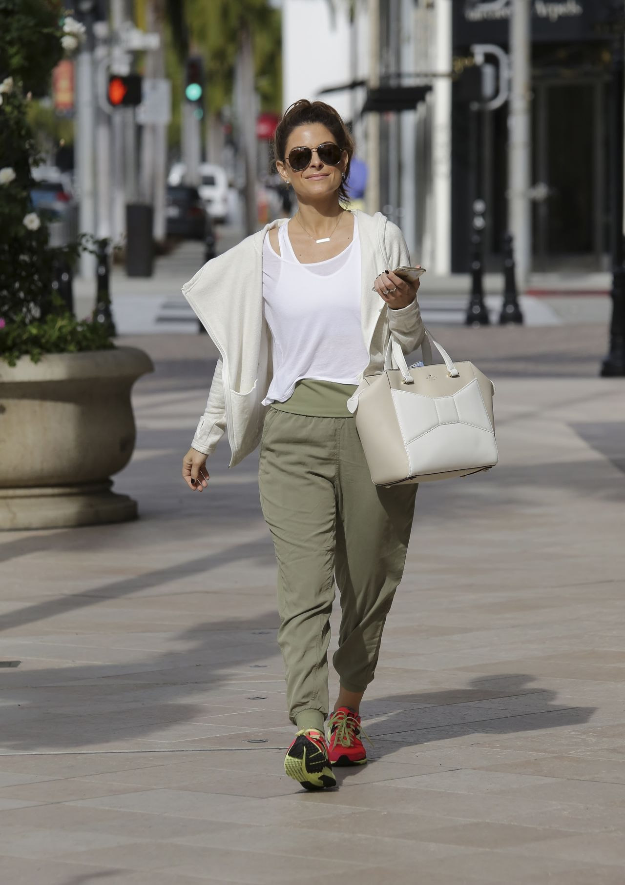 Maria Menounos Street Style U2013 Out In Beverly Hills