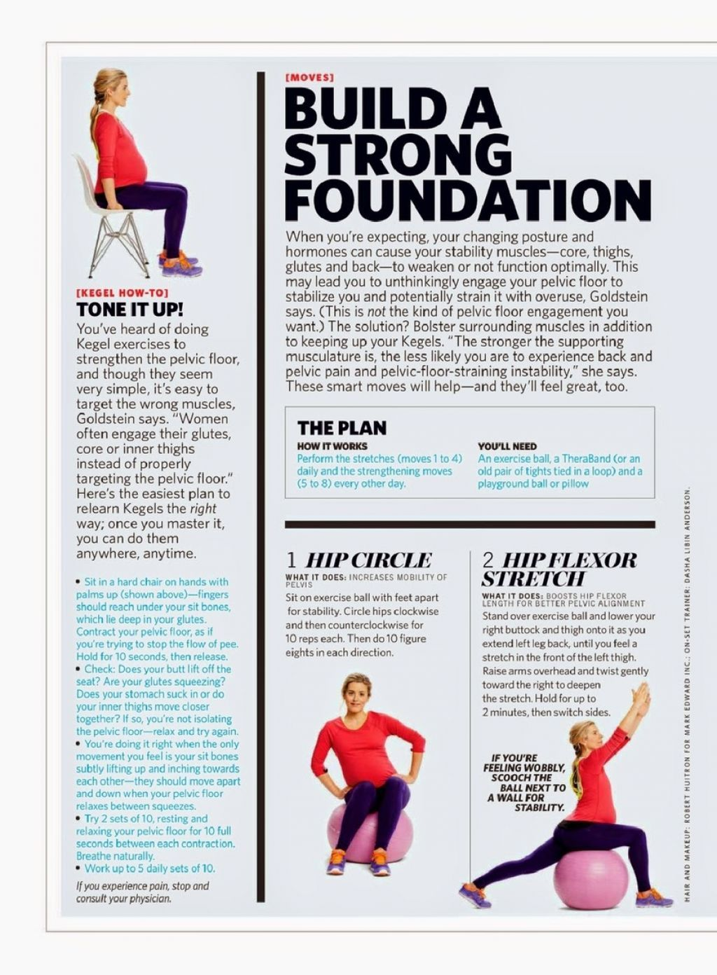 Molly Sims U2013 Fit Pregnancy Magazine February March 2015 Issue