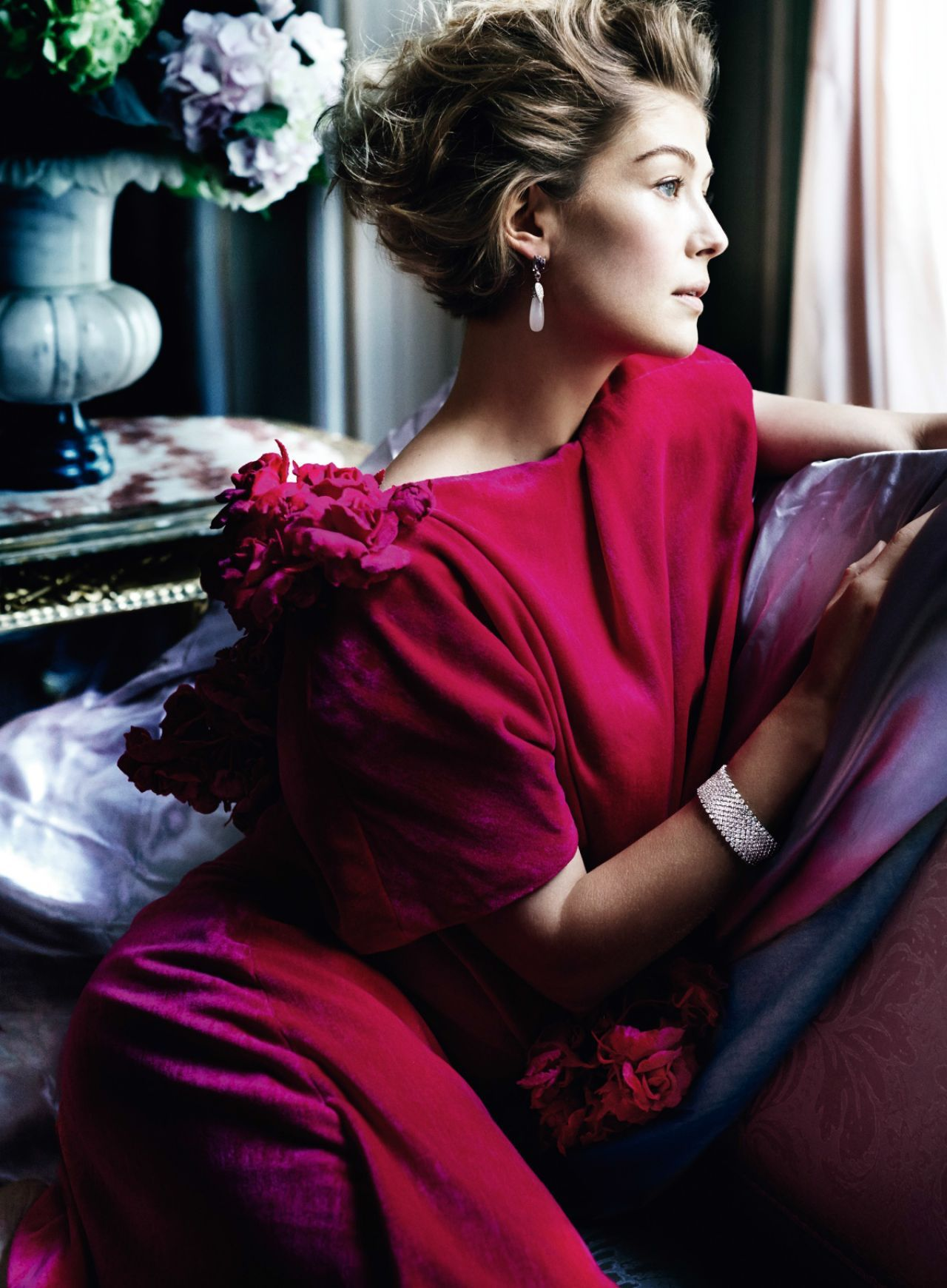 Rosamund Pike U2013 Photoshoot For Vanity Fair Magazine February 2015