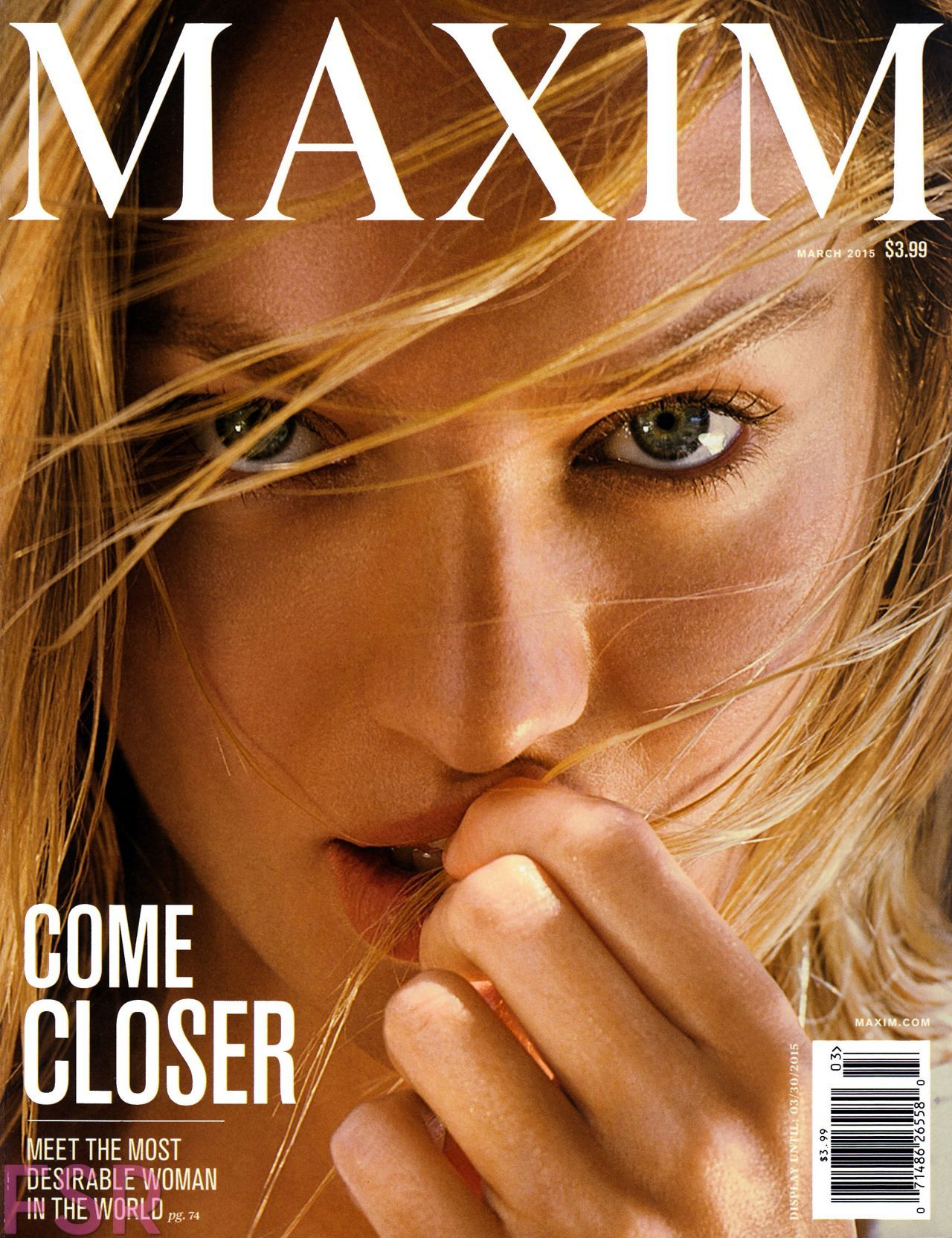 Candice Swanepoel U2013 Maxim Magazine March 2015 Cover